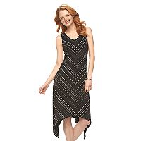 Women's Apt. 9® Shark-Bite Maxi Dress