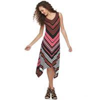 Women's Apt. 9® Shark-Bite Maxi Dress