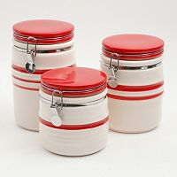 Gibson Home General Store Hollydale 3-pc. Canister Set