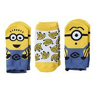 Toddler Boy Despicable Me Minions 6-pk. 3D Low-Cut Socks
