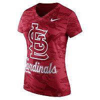 Women's Nike St. Louis Cardinals Pattern Dri-FIT Tee