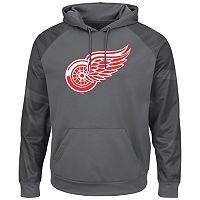 Men's Majestic Detroit Red Wings Domestic Armor Hoodie