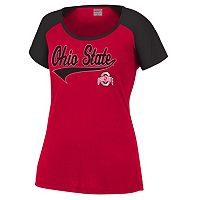 Women's Ohio State Buckeyes Favorite Fitness Tee