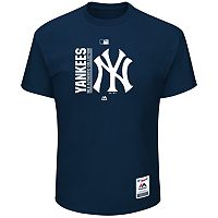 Big & Tall Majestic New York Yankees Authentic Collection Tee