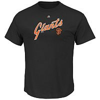 Big & Tall Majestic San Francisco Giants Cooperstown Logo Tee