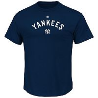 Big & Tall Majestic New York Yankees Cooperstown Logo Tee