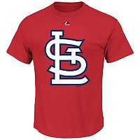 Big & Tall Majestic St. Louis Cardinals Large Logo Tee