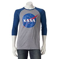 Men's NASA Logo Raglan Tee