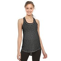 Juniors' SO® Strappy Back Shirttail Tank