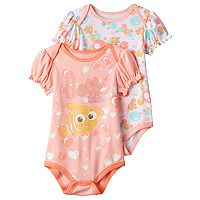 Disney / Pixar Finding Nemo Baby Girl 2-pk. Print & Graphic Bodysuits