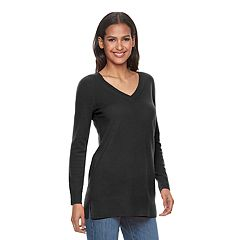 Women's Apt. 9 V-Neck Cashmere Sweater by