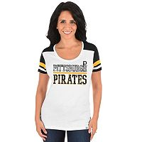 Plus Size Majestic Pittsburgh Pirates Striated Tee