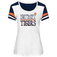Plus Size Majestic Detroit Tigers Striated Tee