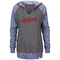 Plus Size Majestic Cleveland Indians Sport Hoodie
