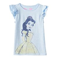 Disney's Beauty and the Beast Toddler Girl Flutter Sleeves Graphic Tee by Jumping Beans®