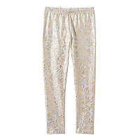 Disney's Beauty and the Beast Girls 4-7 Rose Print Leggings by Jumping Beans®