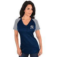 Plus Size Majestic New York Yankees League Diva Tee