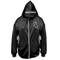 Big & Tall Majestic Chicago White Sox Fleece Full-Zip Hoodie