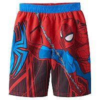 Toddler Boy Marvel Spider-Man Swim Trunks