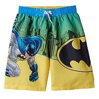 Toddler Boy DC Comics Batman Swim Trunks