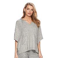 Women's Juicy Couture Glitter Poncho Sweatshirt