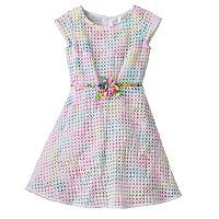 Girls 4-6x Lavender by Us Angels Embroidered Overlay Dress