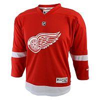 Toddler Reebok Detroit Red Wings Replica Jersey
