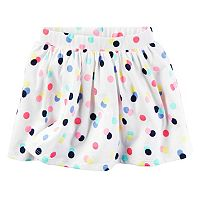 Toddler Girl Carter's Patterned Skort