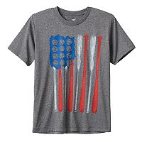 Boys 8-20 Tek Gear® Baseball Flag Tee