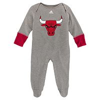 Baby adidas Chicago Bulls Footed Bodysuit