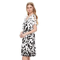 Women's Apt. 9® Cold-Shoulder T-Shirt Dress