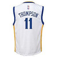 Toddler adidas Golden State Warriors Klay Thompson Replica Jersey