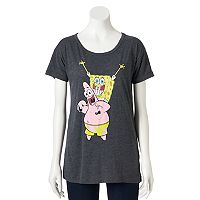 Juniors' Nickelodeon SpongeBob SquarePants Patrick Graphic Tee
