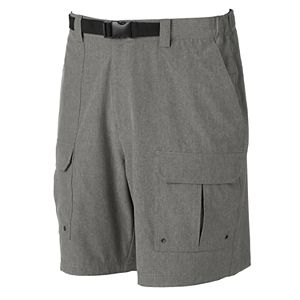 Men's Croft & Barrow® Outdoor Belted Cargo Stretch Shorts