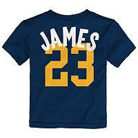Toddler adidas Cleveland Cavaliers LeBron James Whirlwind Tee