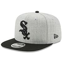Adult New Era Chicago White Sox 9FIFTY Heather Action Snapback Cap