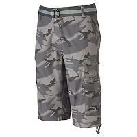 Men's Plugg Messenger-Length Cargo Shorts