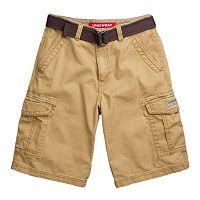 Boys 8-20 Unionbay Alfie Belted Cargo Shorts