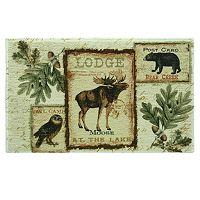 Bacova Lodge Memories Bath Rug