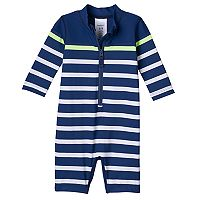 Baby Boy Carter's Striped Rashguard Wet Suit