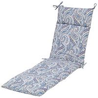 Plantation Patterns Outdoor Chaise Cushion