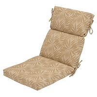 Plantation Patterns Outdoor Dining Chair Cushion