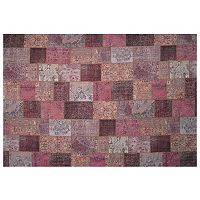 LA Rug Inc Gemini Purple Tile Rug - 5' x 7'