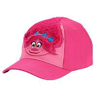 Toddler Girl Dreamworks Trolls Fuzzy Poppy Baseball Cap