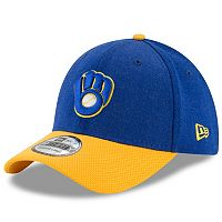Adult New Era Milwaukee Brewers Change Up Redux 39THIRTY Fitted Cap