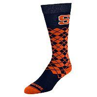 Men's Mojo Syracuse Orange Argyle Socks