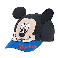 Disney's Mickey Mouse Toddler Boy 3D Embroidered Baseball Cap
