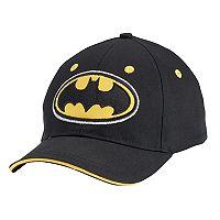 Toddler Boy DC Comics Batman Embroidered Logo Baseball Cap