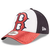 Youth New Era Boston Red Sox Shimmer Shine 9FORTY Adjustable Cap