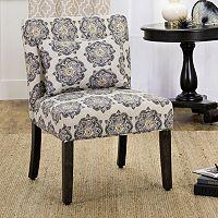HomePop Parker Printed Accent Chair & Pillow 2-piece Set